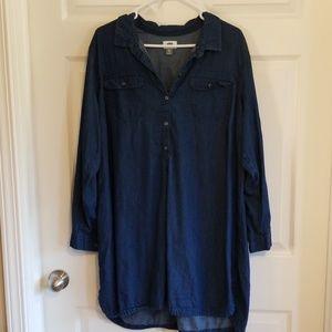 Old Navy denim tunic/dress
